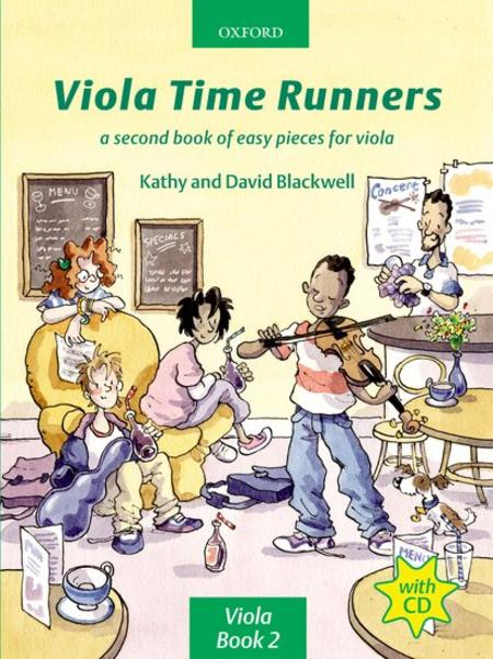 Viola Time Runners (with CD)