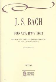 Sonata BWV 1033