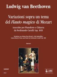 Variations on a theme from Mozart's 'Die Zauberflote' transcribed by Ferdinando Carulli (Op. 169)