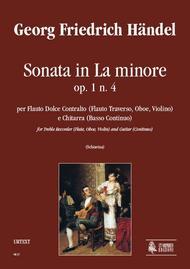 Sonata in A Minor Op. 1 No. 4