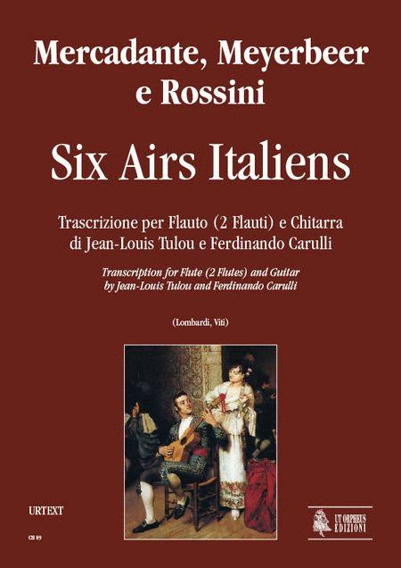 Six Airs Italiens