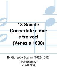 18 Sonate Concertate a due e tre voci (Venezia 1630)