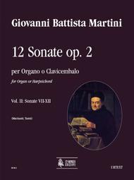 12 Sonatas Op. 2 (Amsterdam 1742)