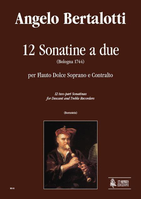 12 two-part Sonatinas (Bologna 1744)