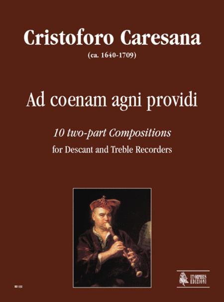 Ad coenam agni providi. 10 two-part Compositions