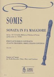 Sonata No. 8 in F Major from the ms. CF-V-23 of the Biblioteca Palatina in Parma (early 18th century)