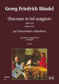 Chaconne in G Major HWV 435 (London 1733)