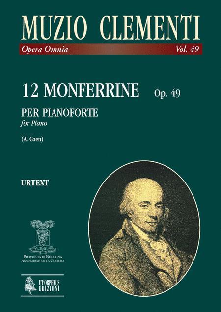 12 Monferrine Op. 49