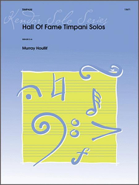 Hall Of Fame Timpani Solos