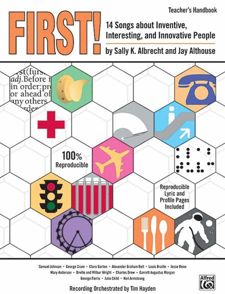First! - 14 Songs About Inventive, Interesting, and Innovative People - Book/CD