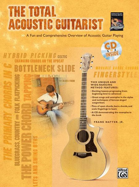 The Total Acoustic Guitarist (Book & CD)