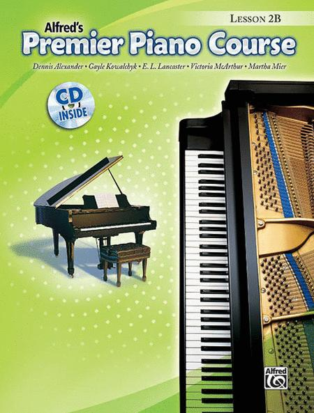 Premier Piano Course Lesson Book, Book 2B