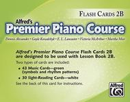 Alfred's Premier Piano Course: Flash Cards, Level 2B