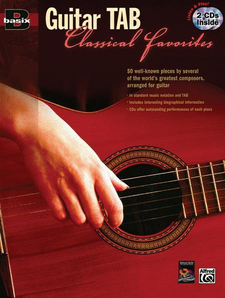 Basix Guitar Tab Classical Favorites