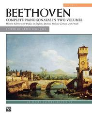 Complete Sonatas in Two Volumes (Volume 1)
