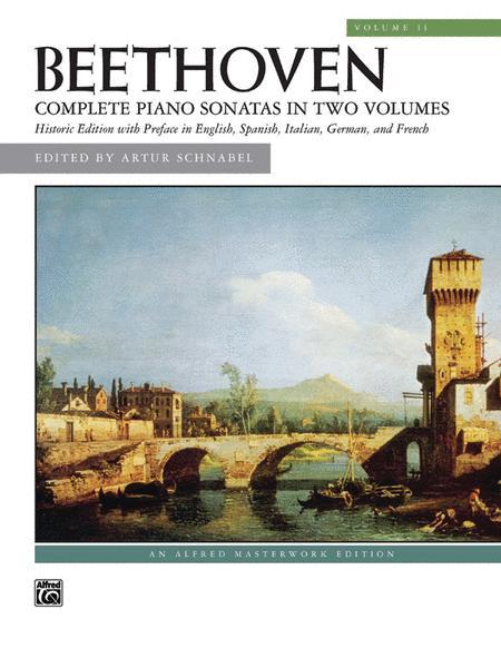 Beethoven -- Sonatas, Volume 2