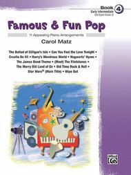 Famous & Fun Pop, Book 4