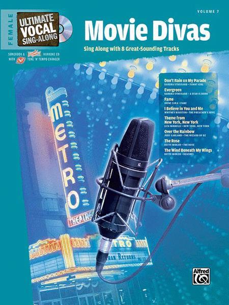 Ultimate Vocal Sing-Along: Movie Divas (Female Voice)
