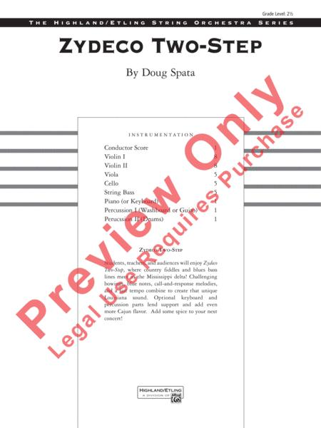 Preview Zydeco Two-Step By Doug Spata (AP 24963S) - Sheet