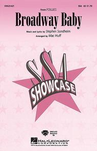 Broadway Baby - ShowTrax CD