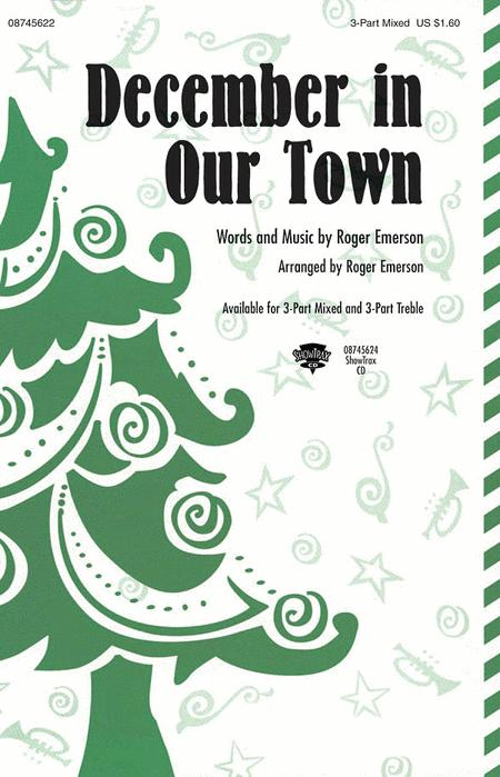 December in Our Town - ShowTrax CD