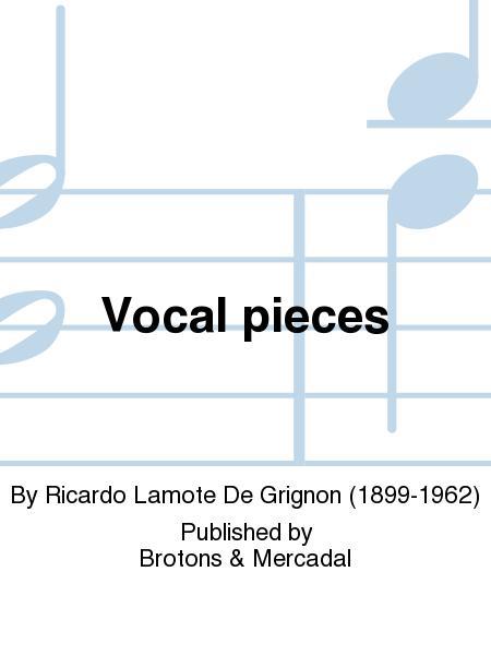 Vocal pieces