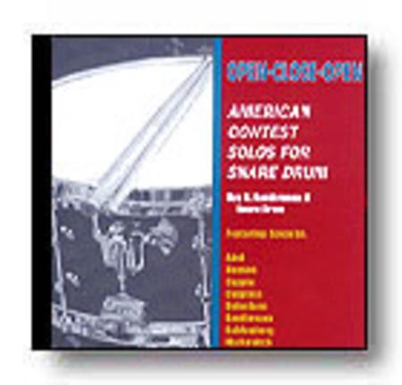 Contest Solos For Snare Drum
