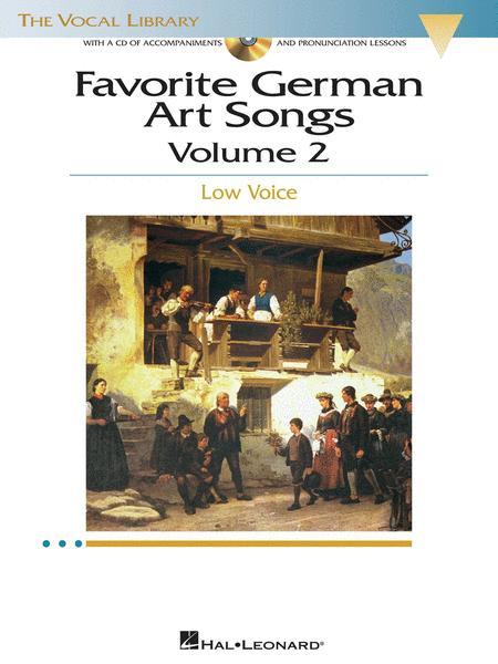 Favorite German Art Songs - Volume 2