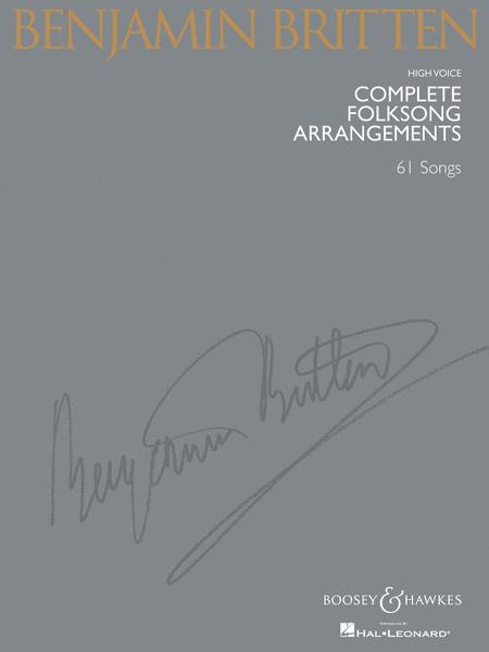 Complete Folksong Arrangements