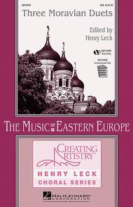 Three Moravian Duets - ChoirTrax CD