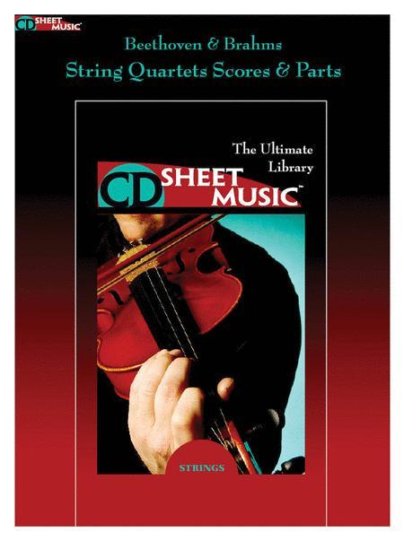 Beethoven & Brahms: String Quartets (Version 2.0)