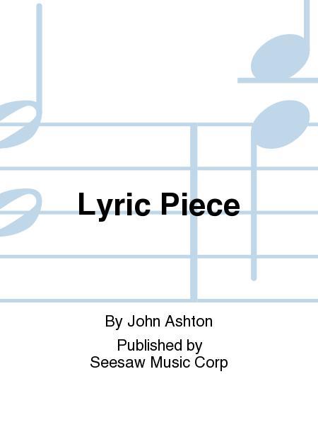 Lyric Piece