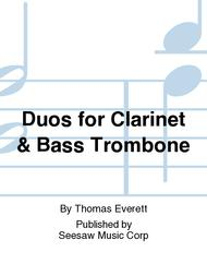Duos for Clarinet & Bass Trombone