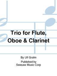 Trio for Flute, Oboe & Clarinet