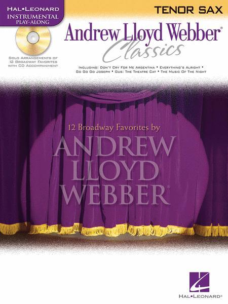 Andrew Lloyd Webber Classics - Tenor Sax