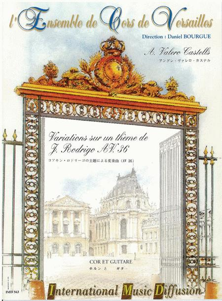Variations Sur Un Theme De J. Rodrigo Av 36