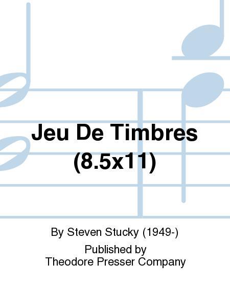Jeu De Timbres (8.5X11)