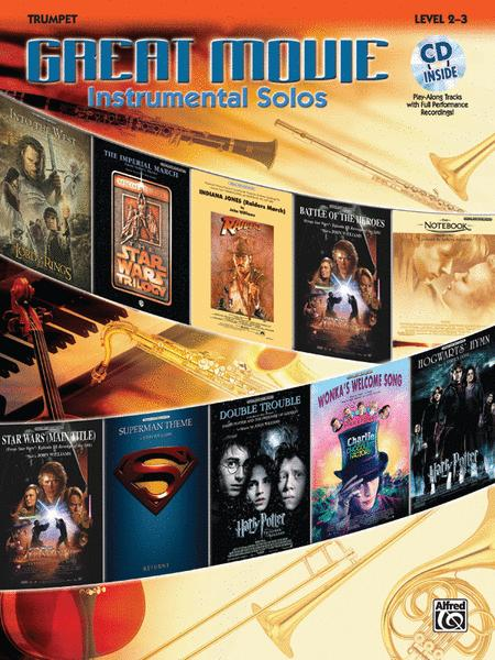 Great Movie Instrumental Solos - Trumpet (Book & CD)