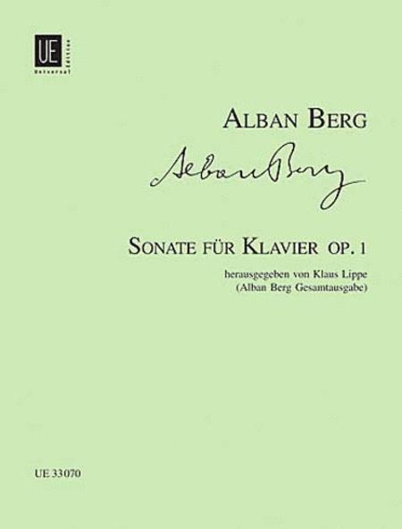 Piano Sonata Op. 1, New Rev.