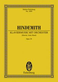 Klaviermusik mit Orchester op. 29
