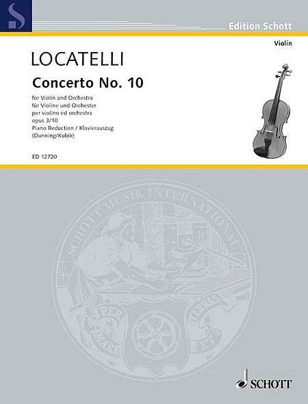 Concerto No. 10 in F Major, Op. 3