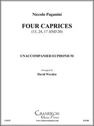 Four Caprices (11, 17, 20 and 24)