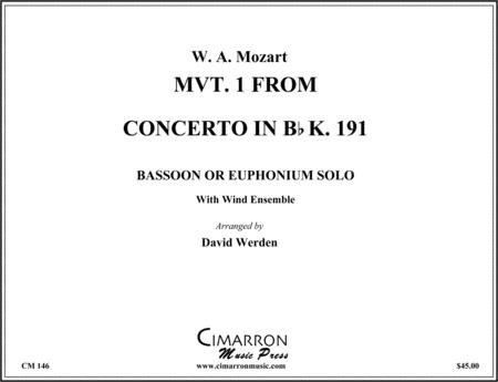 Concerto in Bb, Op. 96 K. 191 (1st Movement)