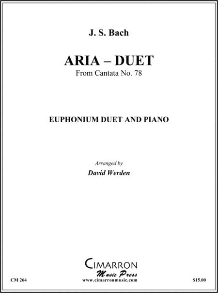 Aria - Duet from Cantata No. 78