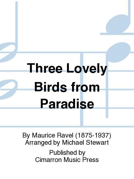 Three Lovely Birds from Paradise
