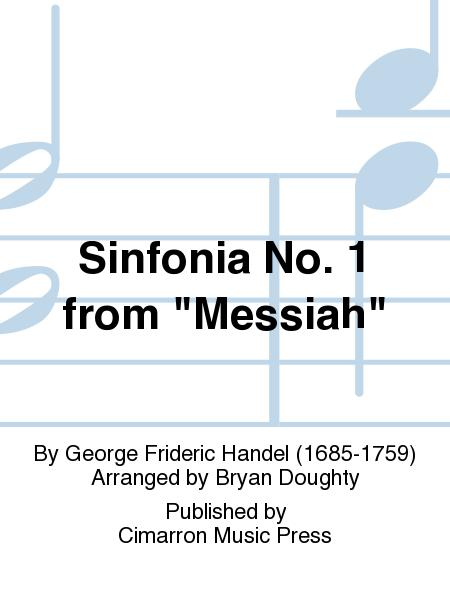 Sinfonia No. 1 from