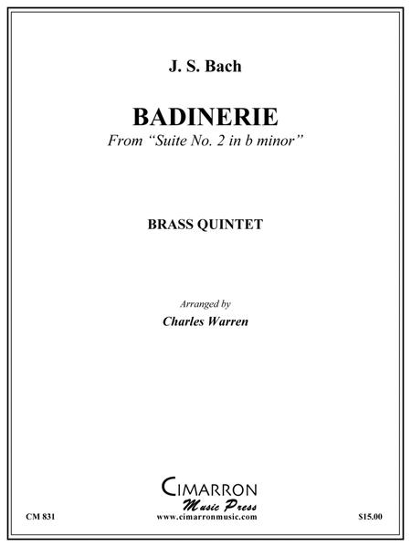 Badinerie from Suite #2 in B minor