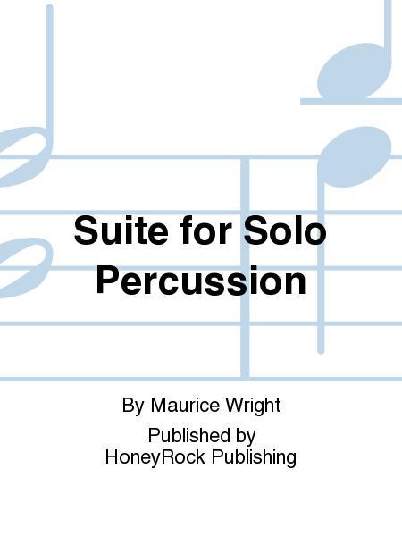 Suite for Solo Percussion