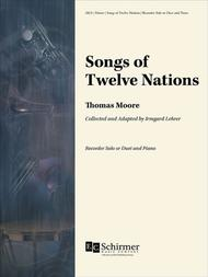 Songs of Twelve Nations (solos and duets for soprano recorders and piano)