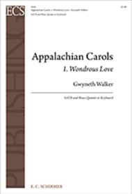Appalachian Carols: 1. Wondrous Love